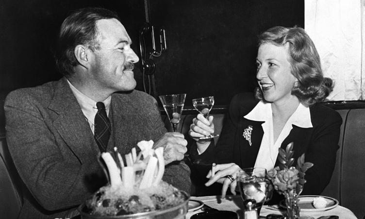 Ernest Hemingway and Martha Gelhorn