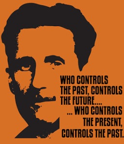 George Orwell and 1984 Quotation